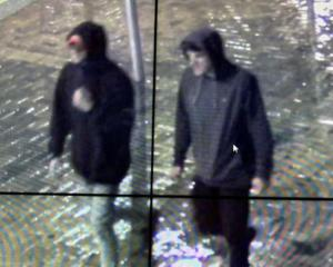 Two men sought following an assault. Photo: Supplied