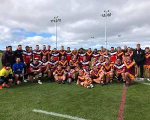 The Canterbury Bulls overcame New South Wales Country 17-16 at Nga Puna Wai on Saturday. Photo:...
