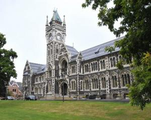 Historic icon ...The University of Otago clocktower building. PHOTO: ODT FILES