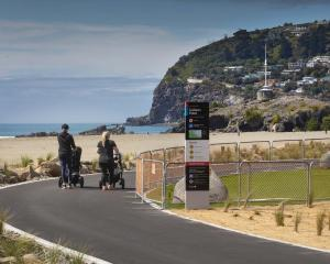 The city council has finished the Shag Rock to Sumner Surf Life Saving Club section of the...