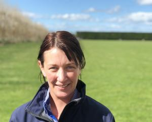 Michaela McLeod is the first South Island Agricultural Field Days organising committee chairwoman...
