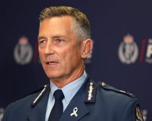 Police Commissioner Mike Bush Photo: RNZ