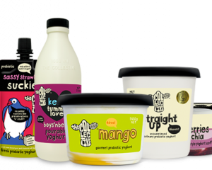 Some of the dairy products manufactured under The Collective brand. Photo: supplied