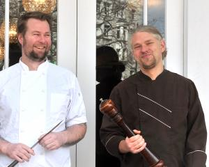 Vault 21 and Prohibition group executive chef Greg Piner, Moiety owner and chef Sam Gasson, and...