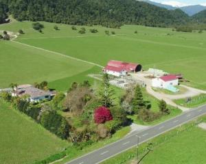The historic property, including a 297ha home and a separate 68ha support block at Mikonui. Photo...