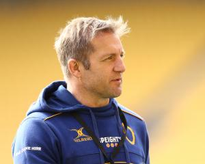 Otago coach Ben Herring. Photo: Getty Images