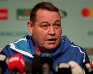 All Blacks coach Steve Hansen. Photo: Getty