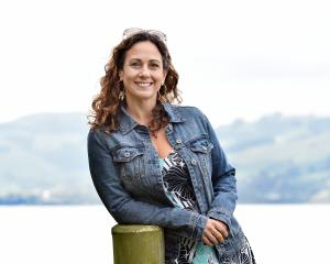 Dr Gianna Savoie is enjoying being so close to nature while based at the University of Otago....