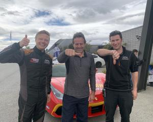 Leading the Highlands Motorsport Park staff scoreboard for the South Island Endurance Series...