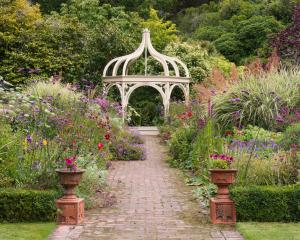 A part of the stunning garden at Ohinetahi in Governors Bay, where North Canterbury Riding for...