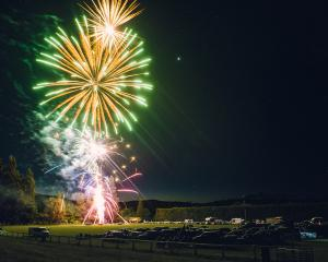 Fireworks light up the sky over the Waiau Domain. The much-anticipated annual event has been...