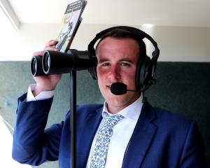 Matt Cross is looking forward to calling his first New Zealand Trotting Cup at Addington Raceway...