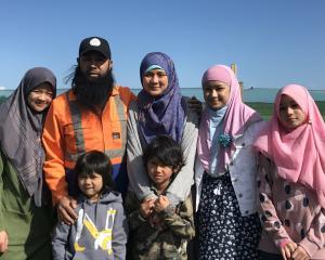 Reza and Silvia Abdul-Jabbar with their children (from left) Aisha (17), Talha (5), Omar (8),...