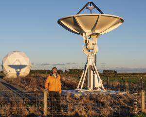 Great South Engineering projects and ground segment station manager Robin McNeill, at the Awarua...