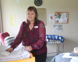 Winton Maternity Centre manager Debbie McDougall creates a cosy environment for mothers to feel...