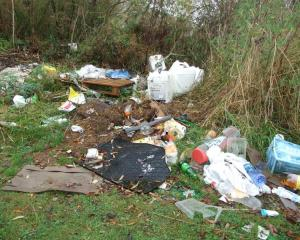 The DCC has introduced new fines for illegal dumping. Photo: ODT files