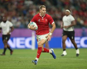 Wales fullback Liam Williams will miss this weekend's semifinal against South Africa. Photo:...