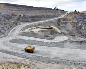 Oceana Gold can go ahead with its expansion of the Coronation North pit at Macraes; pictured,...