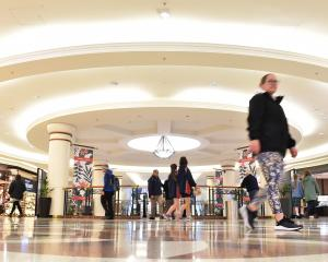 Dunedin's Meridian Mall is on the market. PHOTO: GREGOR RICHARDSON