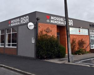 The Mosgiel Memorial RSA building in Church St, Mosgiel. PHOTO: ODT FILES