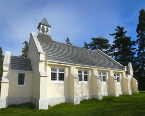 Central Otago's Tarras Church is to be sold at the end of the month. Photo: Simon Henderson