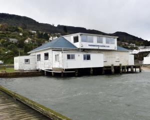 The Ravensbourne Boating Club could soon have fixed toilet facilities. PHOTO: PETER MCINTOSH
