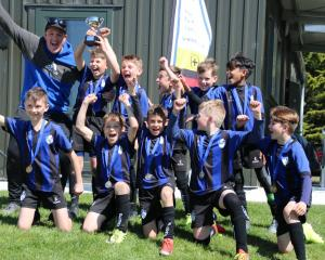 The Selwyn United FC Black team won the Martin Allan Trophy at the South Island 10th Grade...