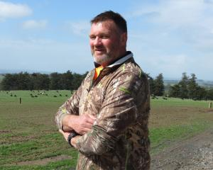 Dairy farmer Peter Dobbie, of Clinton, says farmers are getting increasingly worried about the...