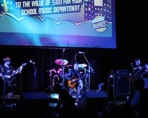 St Andrew's College preparatory school band rocked their way to a win at the Rockshop Bandquest...