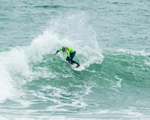 Avonside Girls' High School surfer Ava Henderson is now a national champion. Photo:Images Cory /...