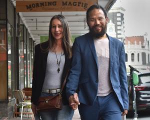 Dunedin couple Patricia and Dorjee Tsering. PHOTO: GREGOR RICHARDSON