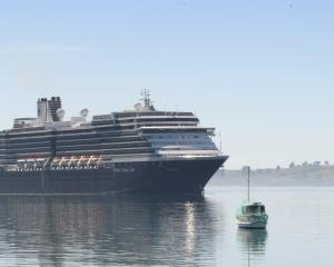 Noordam on an earlier visit to Dunedin. Photo: ODT