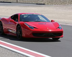The cars ranged from a 1919 Lancia Kappa to a 2013 Ferrari 458 Italia (above). Photo: Getty Images