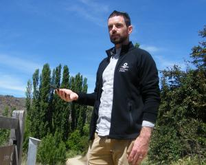 Tourism Central Otago digital marketing manager Antz Longman trials the new 360 Google Street...