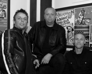 Punk rockers Sticky Filth return to The Cook tonight to play their first gig in Dunedin in more...