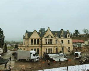 Black Christmas producer Adam Hendricks called this Campbell Park Estate building a ''spooky ol ...