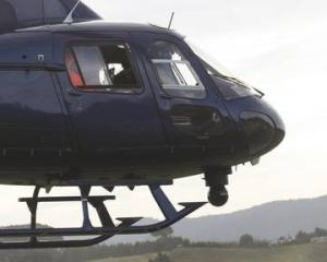 The police Eagle helicopter. Photo: NZ Herald