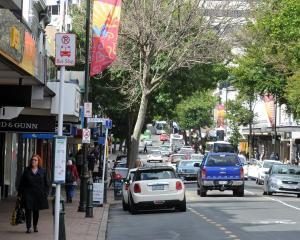 George Street. PHOTO: ODT FILES