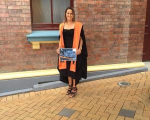 Graduate of the New Zealand Diploma in Agribusiness Management (Level 5) Brooke Woolsey.