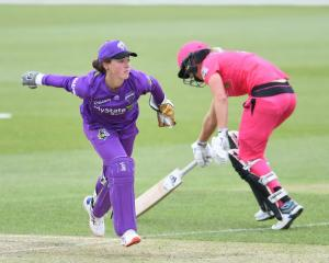 Hobart Hurricanes wicketkeeper Emily Smith (left) will sit out the remainder of the season...