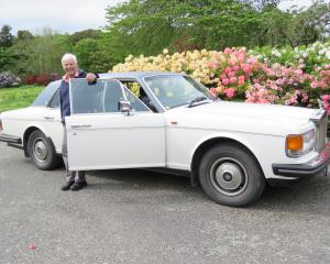 John Hughes, of Tapanui, has not regretted buying the 1986 Rolls Royce Silver Spur 12 years ago....