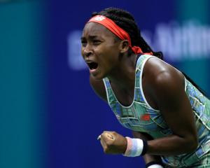 Coco Gauff. Photo: Getty