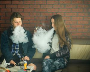 The Cancer Society is concerned about young people starting vaping. It is keen to collect the...