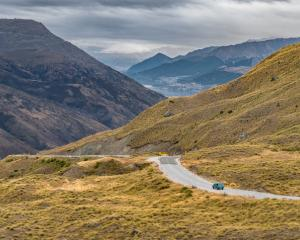 The Crown Range road. Photo: Getty