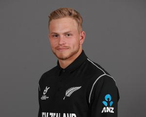Former NZ U-19 player Dale Phillips is in line for his List A debut. Photo: Getty Images