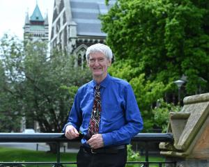 Retiring University of Otago chaplain Greg Hughson. Photo: Linda Robertson