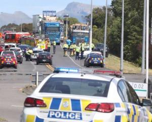 Two people have died in a two car crash on the Hawke's Bay Expressway. Photo: Hawkes Bay Today