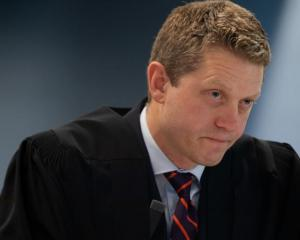 The accused man's lead defence lawyer, Ian Brookie, in the Grace Millane trial. Photo: RNZ