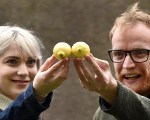 Sophie Graham and Alex Martyn take on a verbal challenge in Lemons Lemons Lemons Lemons Lemons....