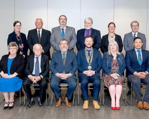 Three new councillors and eight returning ones were sworn in at the district council's inaugural...